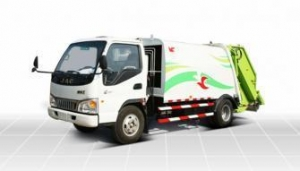 China Compression garbage truck YZT5072ZYS on sale