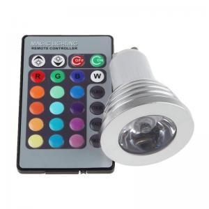China 2.3$ USD GU10 3W RGB led s RGB LED Spot Light on sale