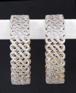 China junkkart Multi american diamond bangle on sale