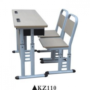 China Double used preschool furniture school chair desk for sale KZ110 on sale
