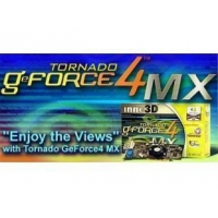 AGP8 GEFORCE4 MX440 64MB DDR 275/500+TVOUT