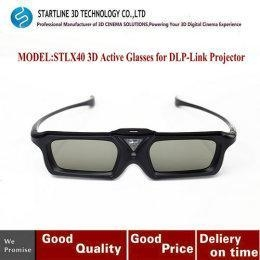 China Lightweight 3D Active Shutter Rechargeable Glasses For DLP-Link Projector on sale
