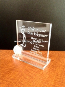 China Cosmetic Display Acrylic Awards on sale