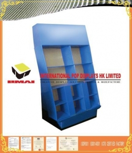 China High Quality Strong Cardboard Power Wing Displays For Garment Promotion on sale