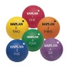 China Kaplan Colored Playground Balls (set of 6) for sale