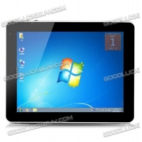 China F888 9.7 inch IPS Screen Win 7 Tablet PC Atom N2600 Dual OS Core 1.66GHz 3G Bluetooth 2GB/32GB on sale