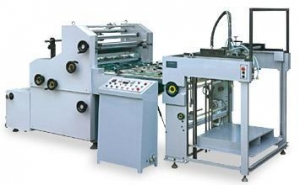 China MODEL ZFM-1000、1100 AUTOMATIC WATER SOLUBLE LAMINATING MACHINE on sale