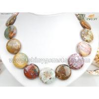 Semi-precious Stone Necklace Item No3902149825*25