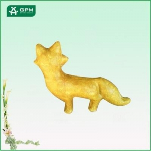 China DIY painting fox toy, custom craft for decoration on sale