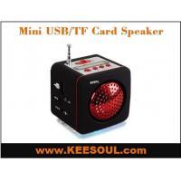 KS-909 OUTDOOR OR HOME USE USB TF CARD MINI SPEAKER