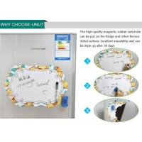 China A3 decorative magnetic dry erase board on sale
