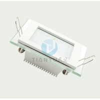 6W-18W SMD Glass Led Lighting Panel Square Recessed