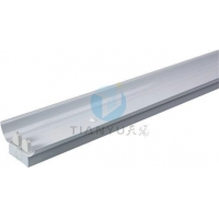 China 2 Pcs Office Fluorescent T8 Light Fixtures With Cover Shades on sale