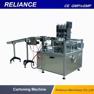 China Case Study - Washing Machine  Blister Cartoning Machine on sale