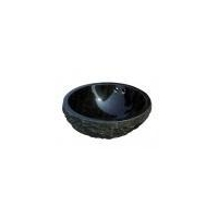 China Nature and Polish surface Shanxi Black Granite Bathroom Basin on sale