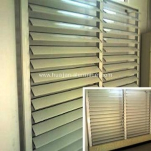 China Powder Coated And High Quality Aluminium Louver on sale