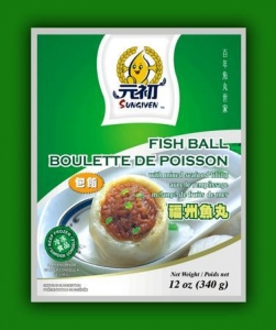 China Fuchow Fish Ball(With Mixed Seafood Filling) on sale