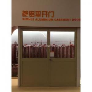 China Simple aluminium casement door on sale