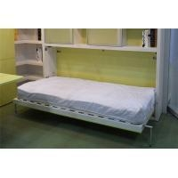 China Wooden Horizontal Murphy Wall Bed Functional Single Wallbed With Dining Desk on sale