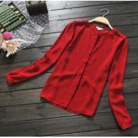 China Female Long Sleeve Shirts on sale