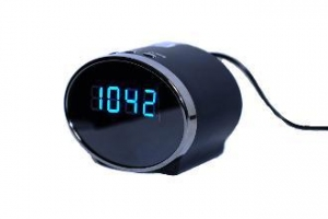 China Oval Alarm Clock with DVR in WiFi on sale