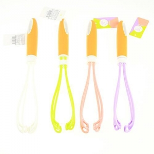 China 11.4 Colorful Plastic Kitchen Whisk With... SKU# YJ136160359 on sale