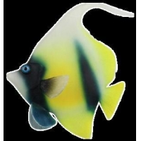 China Plastic Decoration OM-5022 RED SEA BANNER FISH on sale