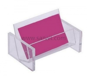 China Simple clear business card holder SBD-075 on sale