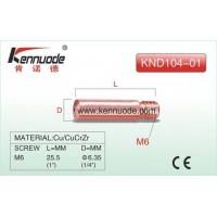 English KENNUODE TWECO type Contact Tip KND104 Series