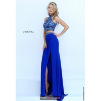 Sherri Hill Fitted Long Dress 50278