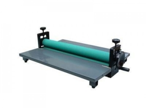China Manual cold roll laminator 650mm on sale