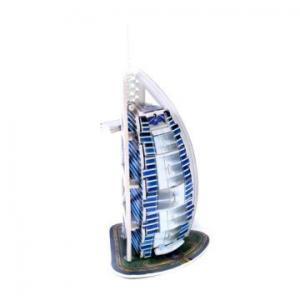 China 3D Puzzle Burj Al-Arab Hotel Model No.:556-B on sale