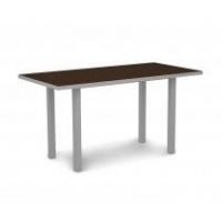 "Furniture Euro 36"" x 72"" Counter Height Table by Polywood"