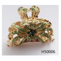 China Bridesmaid crystal flower arab weddings wedding hair accessories H50006 on sale