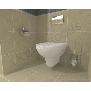 China Vitra S20 Wall Hung Toilet and Geberit WC Frame Pack on sale