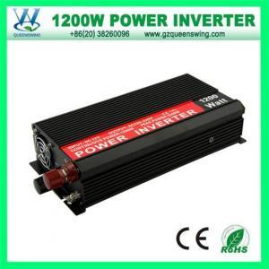 China Power Inverter QW-C1200MHigh Efficiency 1200W Power Inverters 12V /24V DC Converter on sale