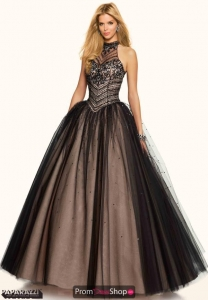 China Mori Lee Tulle Quinceanera Ball Gown 98042 on sale