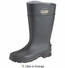 China Norcross Servus 18821-10 16 Steel Toed Black Economy Knee Boot Size 10 on sale