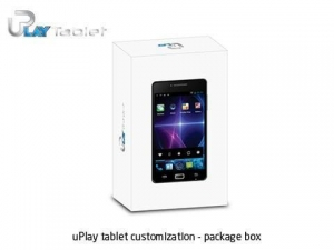 China uPlay tablet customization  package box on sale