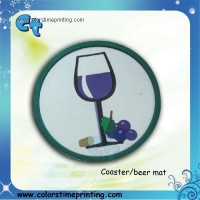China Cardboard drink coasters on sale