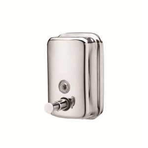China Mirror polished stainless steel soap dispensers use in bathroom on sale