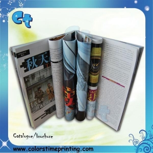 China Paperback magazine printing A4 magazine printing on sale