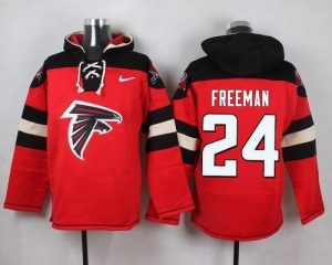 China Nike Falcons #24 Devonta Freeman Red Player Pullover NFL Hoodie on sale