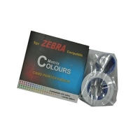 Zebra 800015-440CN chinese version color ribbon for zebra zxp 3 series id printer machine