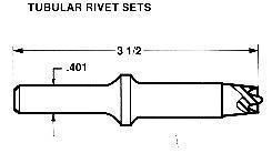 China Rivet Tools Solid / Semi Tubular Rivet Tools on sale