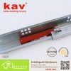 China 662F two folds similar as grass drawer slides|push to open drawer slides for sale
