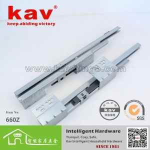 China 660Z Soft closing industrial drawer slides,blumotion drawer slides on sale