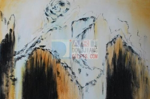 China Hand made oil painting on canvas on sale