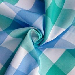 China 100%Cotton Yarn Dyed Plaid Shirting Fabric (QF13-0217) Yarn Dyed Shirting Fabrics on sale