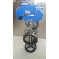China ELECTRICAL OPERATED BUTTERFLY VALVE on sale